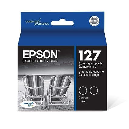 Epson T127120-D2 - Cartucho de tinta para impresoras (Negro ...