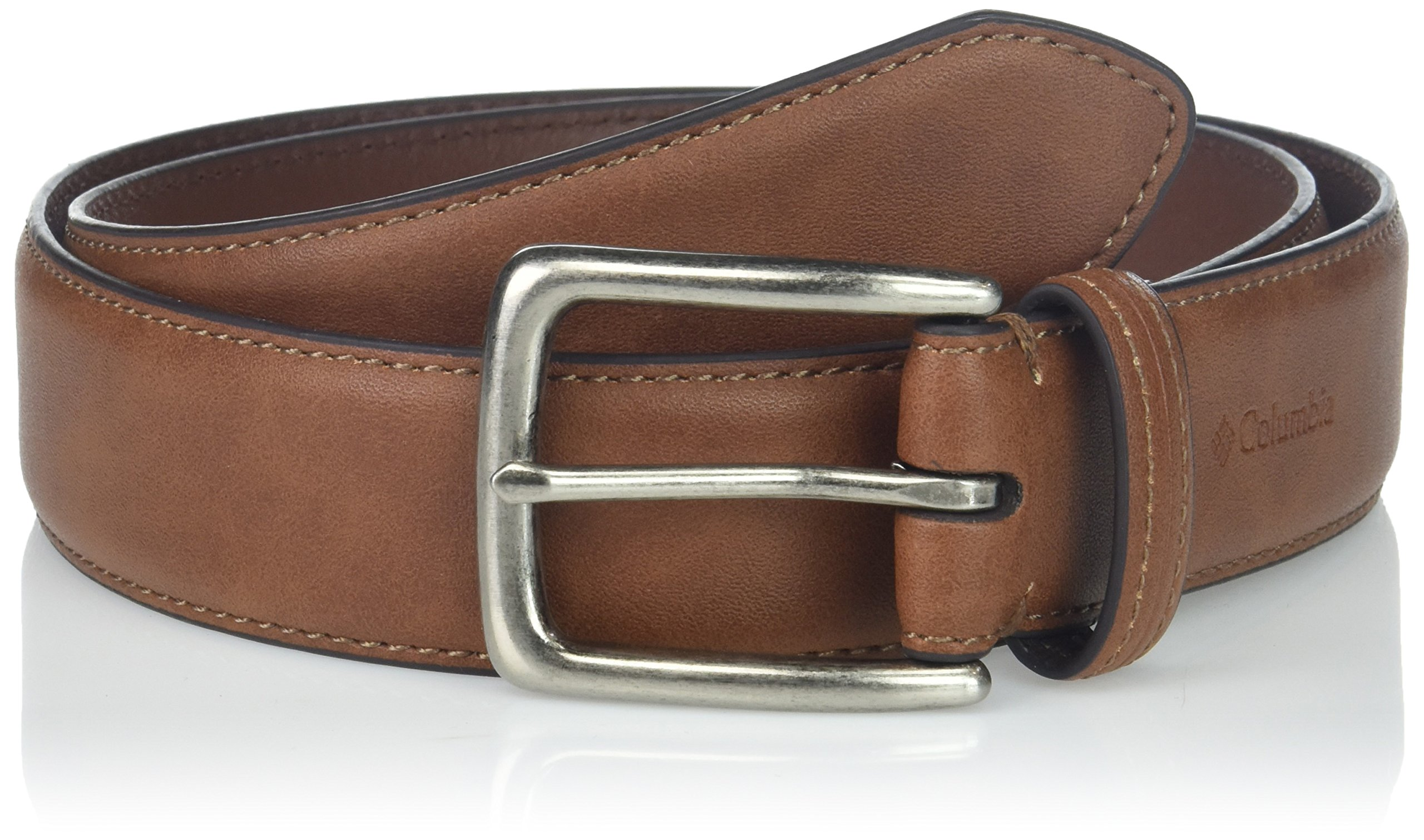 Columbia Men's Trinity 35mm Feather Edge  Belt,Tan,34
