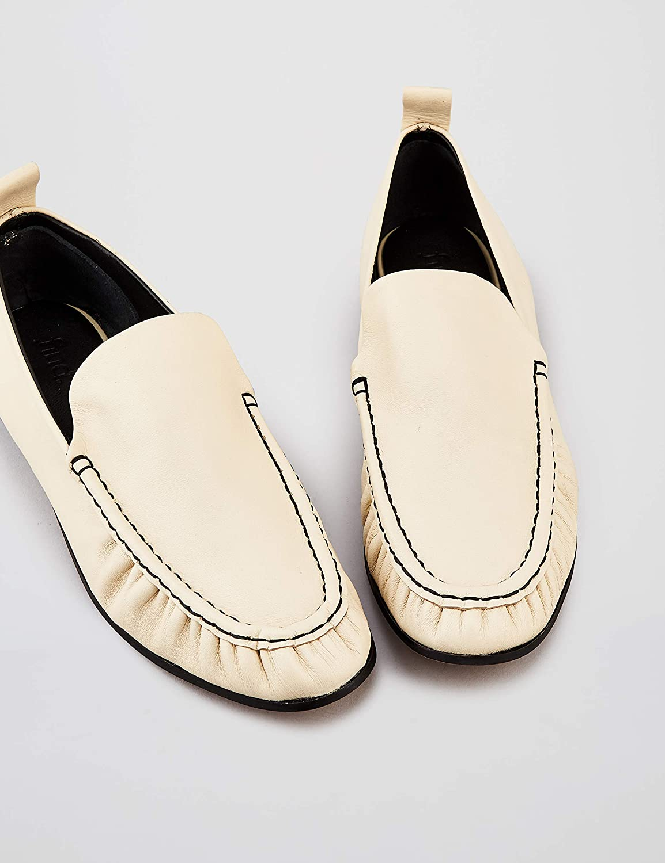 Amazon Marke: find. Soft Leather Damen Slipper