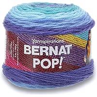 Bernat Pop, Bufanda de tamaño, Azul (Blue Blaze), 1, 1