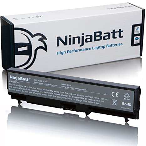 NinjaBatt® Nueva batería para ordenador portátil Lenovo ThinkPad SL510 T410 T410I T420 T430 T510 T520