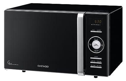 Daewoo KOG-8A6K Microondas, 23 litros, con Grill, Color Negro, 800 ...