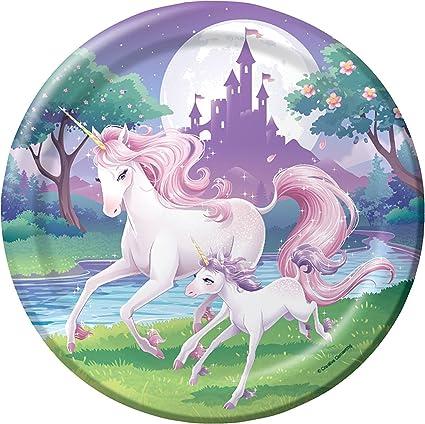 Tarta Fantasy Unicornio Como Decoracion Para Tartas Y Pasteles - Pasteles-cumpleaos-infantiles