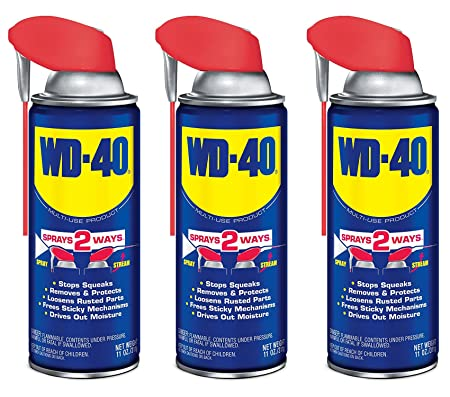 WD-40 49004 11 Oz WD-40 With Smart Straw - - Amazon com