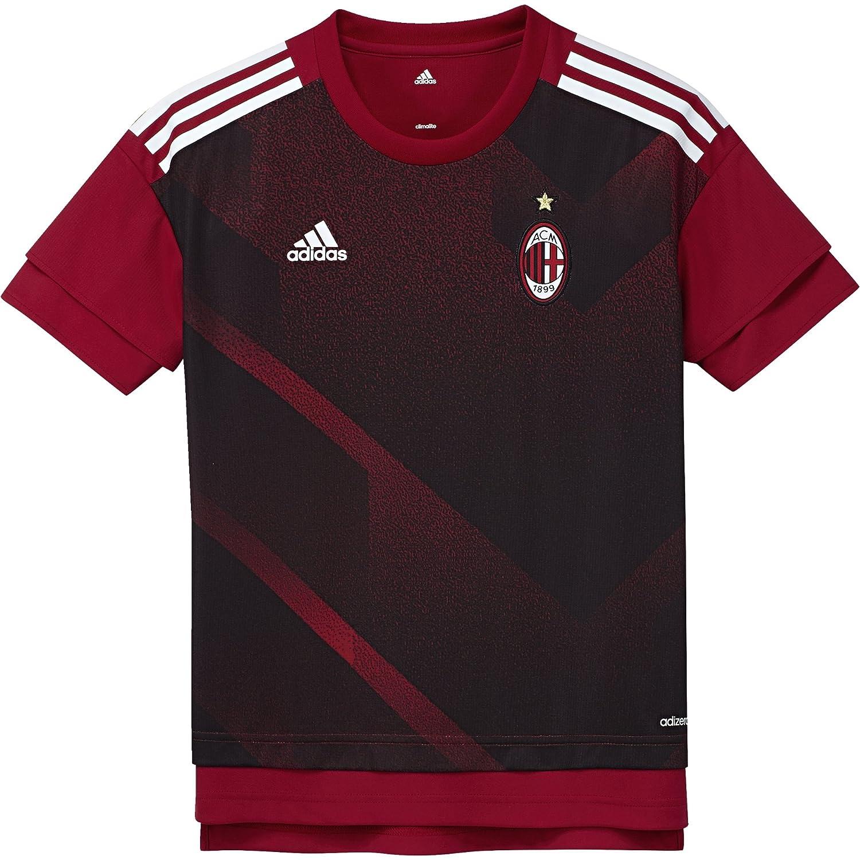 0 Kinder Ac Mailand Home Pre-Match Shirt Heimtrikot