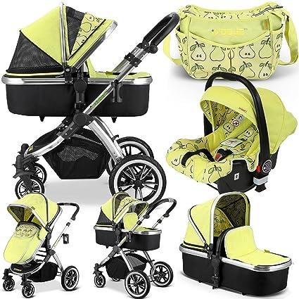 iVogue – Pear Luxury Cochecito de bebé 3 en1, con asiento para ...