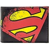 DC Comics Superman Rétro emblème Noir Portefeuille