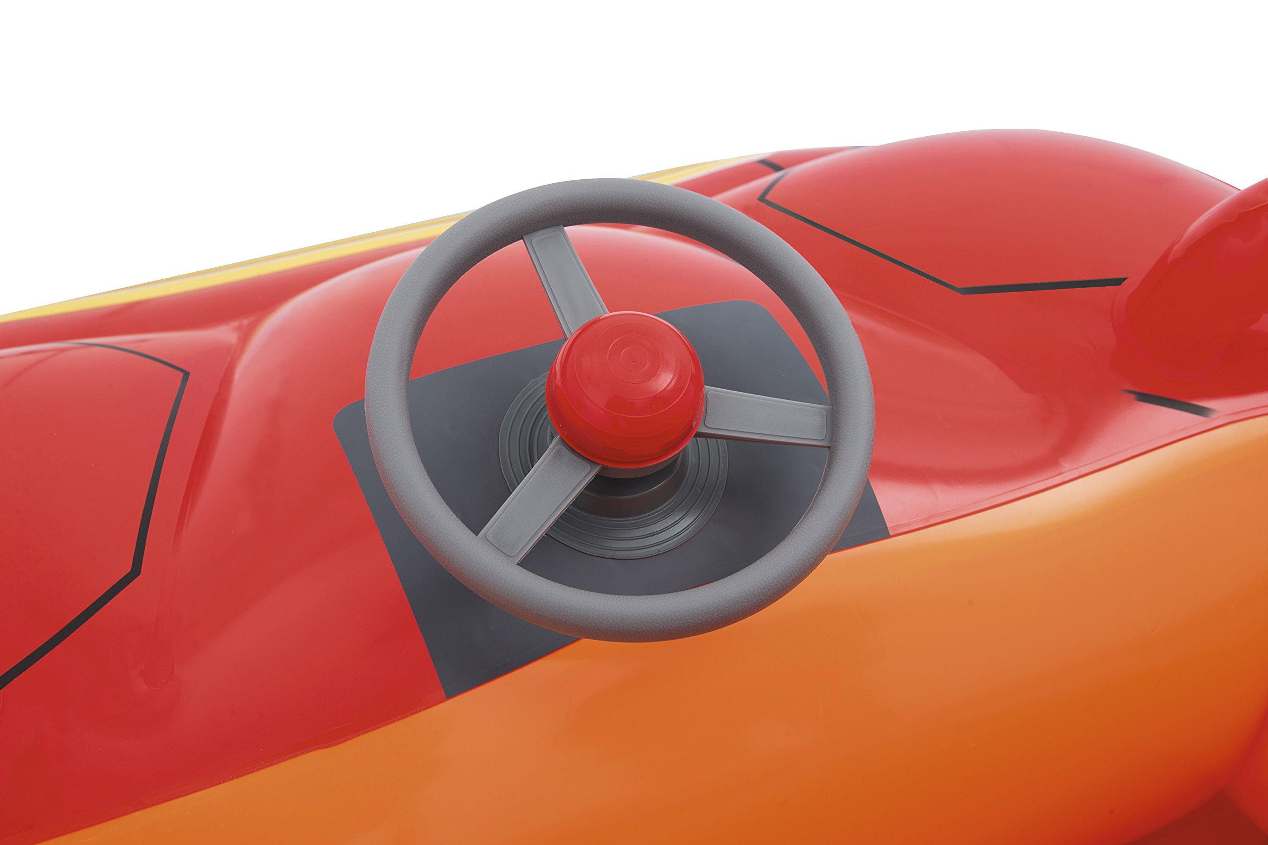 Bestway Hot Wheels Children's Inflatable Car Ball Pit, Includes 25 Balls by Bestway (Image #7)