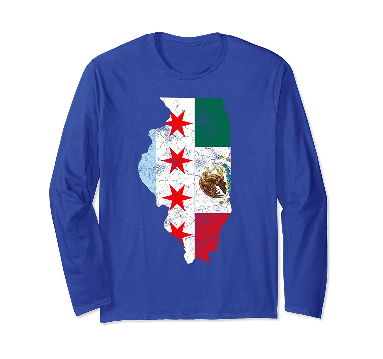 Cinco De Mayo Shirt Chicago Mexican Flag Men Women Gift-alottee gift