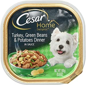 Dogswell Cesar Home Delights Turkey/Potato/Green Bean 24/3.5 oz Pet Food, 1 Pack, One Size