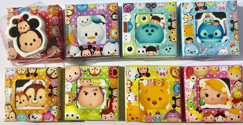 Party Erasers Tsum Tsum Chip n Dale Die-Cut Eraser