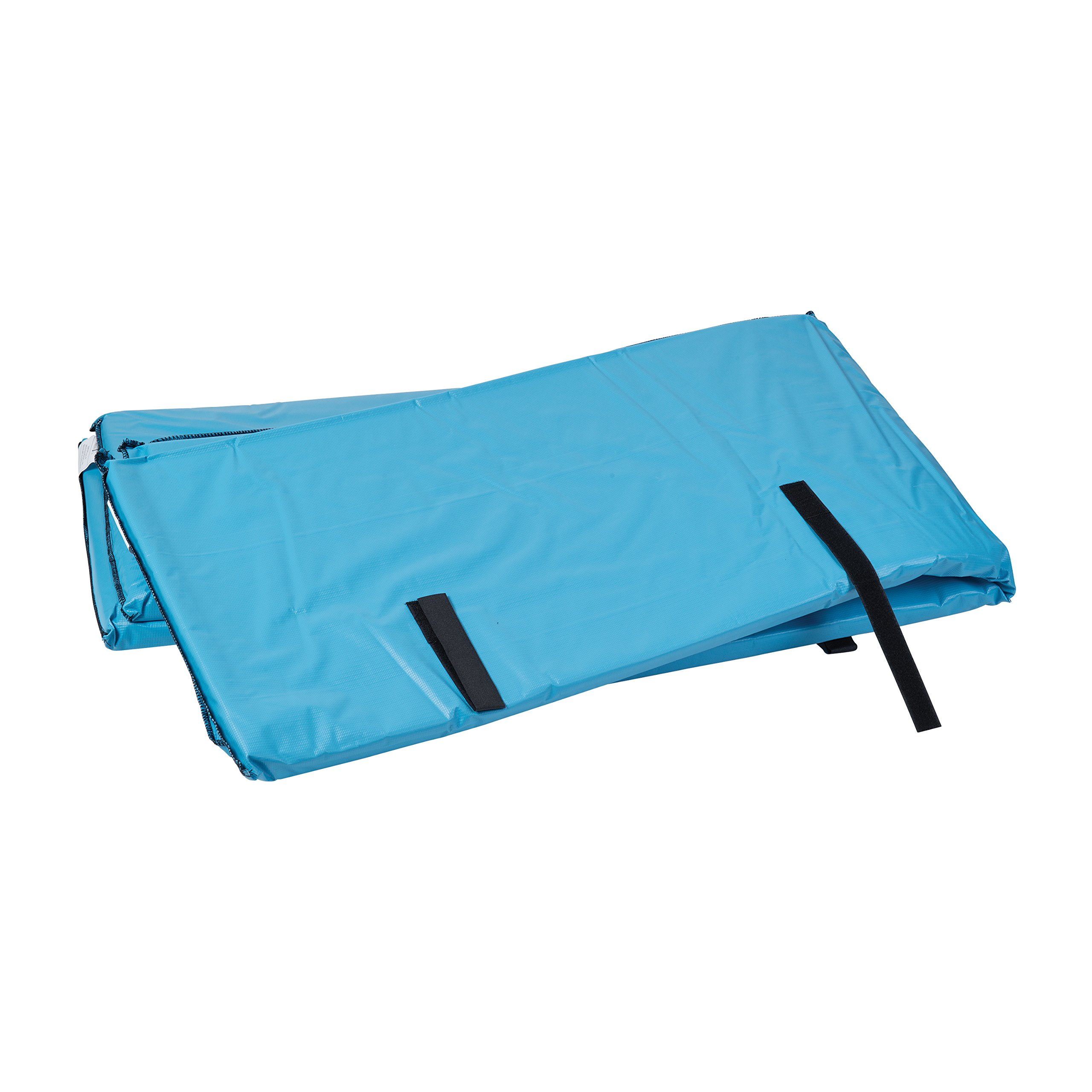 Duro-Med Bed Bumper Pads with Non-Allergenic Cover, Vinyl Bed Rail Pads, 60 x 15 x 0.5 inches, 2 Bed Rail Covers, Blue
