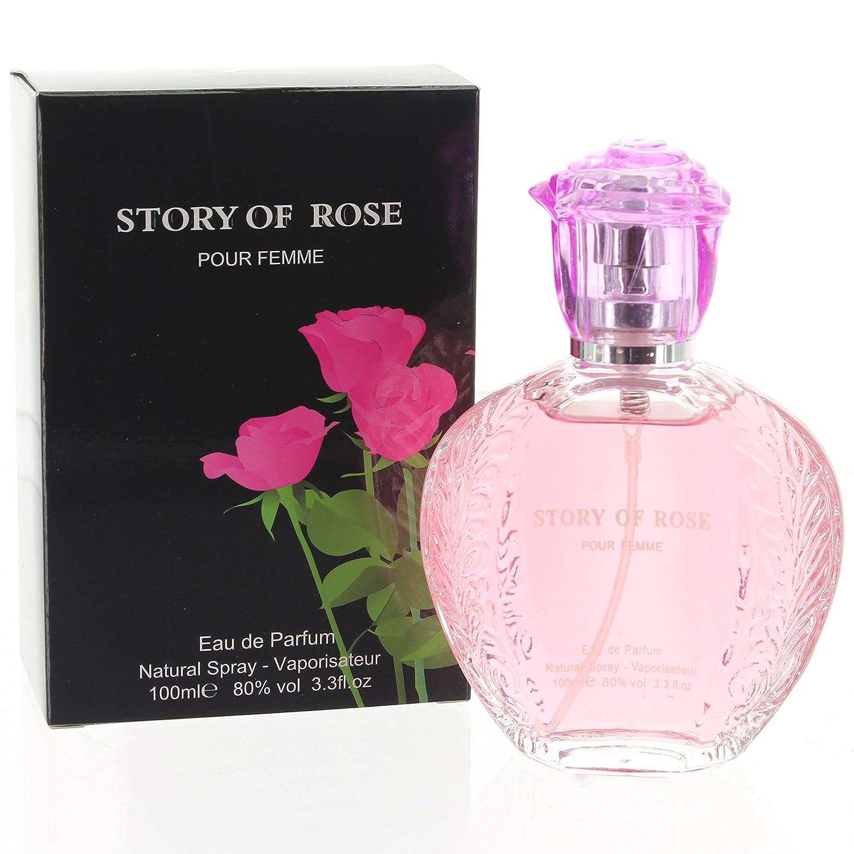Story Of Rose Pour Femme Women Eau De Perfume Natural Spray 85ml