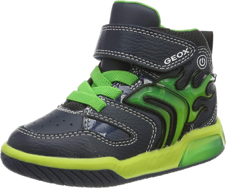 Geox Jungen Kinder blinkende Sneaker Schuhe Herbst gr 33 in