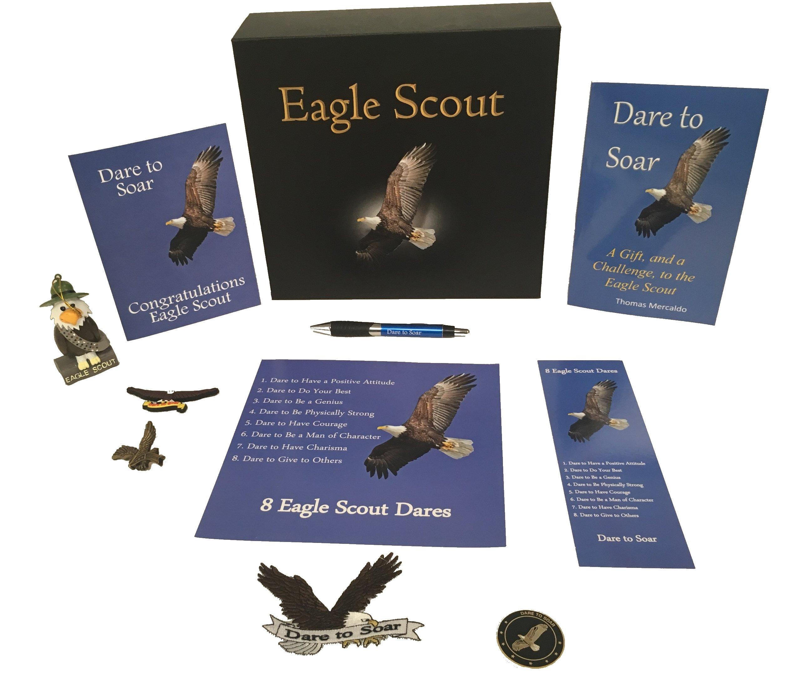 Eagle Scout Dare to Soar Keepsake Box Set (11 Total Items!) by Aquinas Eagle
