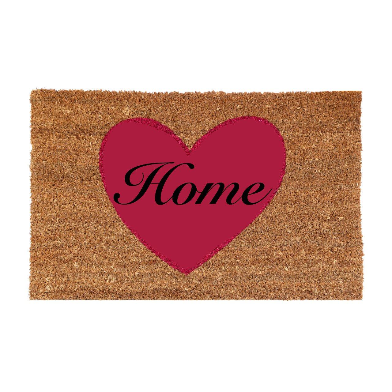 New Style Doormats 60 x 40cm Various Design Coir Doormat Prime Homewares® (Green Polka Doormat)