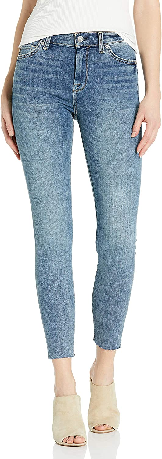 7 For All Mankind Womens Ankle Skinny High Rise Jeans