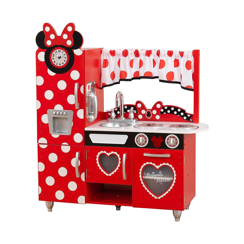 Amazon com disney jr minnie mouse vintage kitchen play kitchen toys games