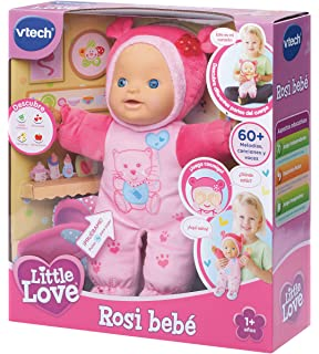 VTech - ROSI, muñeca interactiva, Little Love (3480-169422)