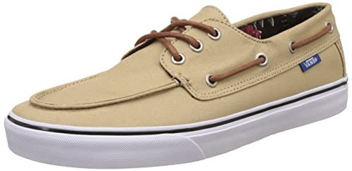 7378c012a804 Vans Men s Chauffeur SF Khaki and Desert Aloha Sneakers - 10 UK India (44.5
