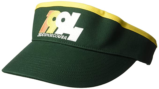 DC Hombres Olympiado Visor Gorra de béisbol - Verde -: Amazon.es ...