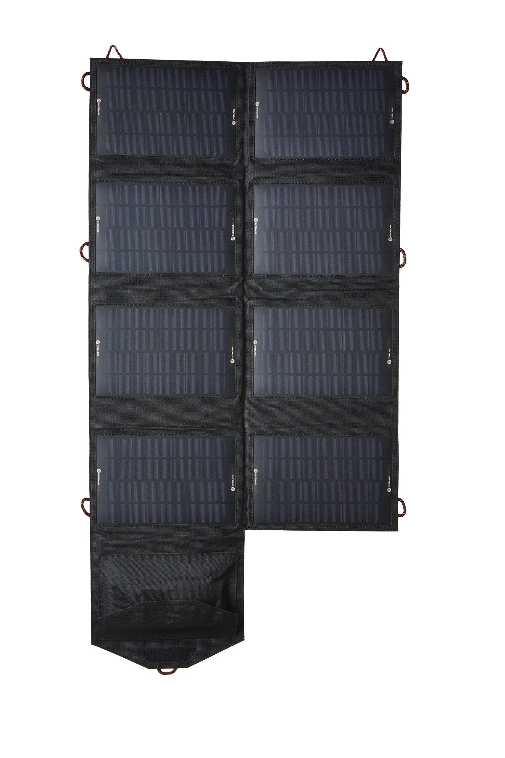 Overland Solar 28 Watt Ultra Portable Solar Charging System