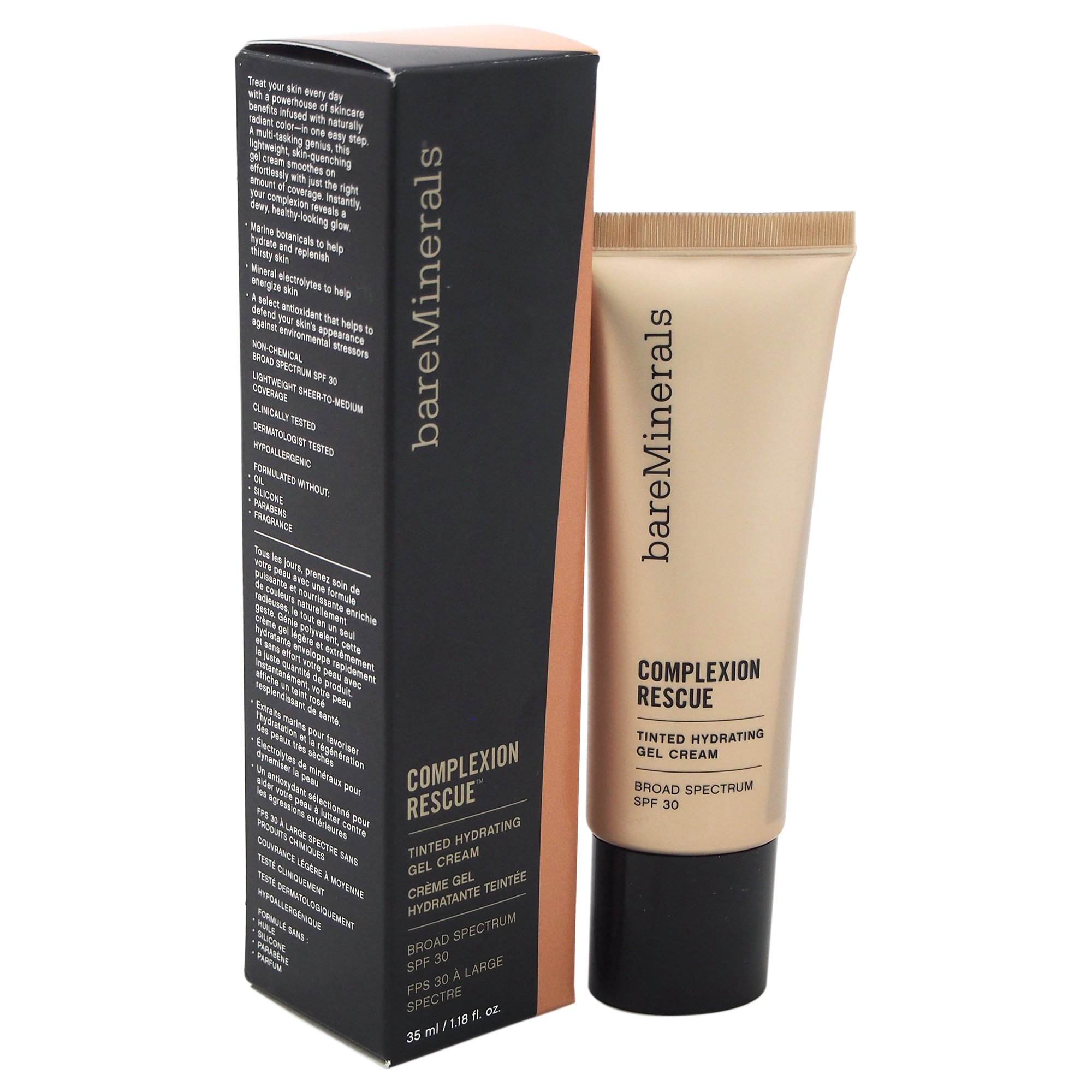 bareMinerals Complexion Rescue Tinted Hydrating Gel Cream SPF 30, Tan 07, 1.18 Ounce by bare Minerals