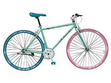 Wizard Industry Helliot Soho 5313 - Bicicleta Fixie, Cuadro de Acero, Frenos V-