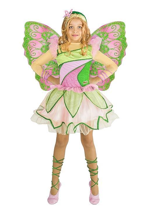 b0b32f4c0e7c5 Ciao 11199 - Flora Butterflix Costume Winx 4-6 anni  Amazon.it ...