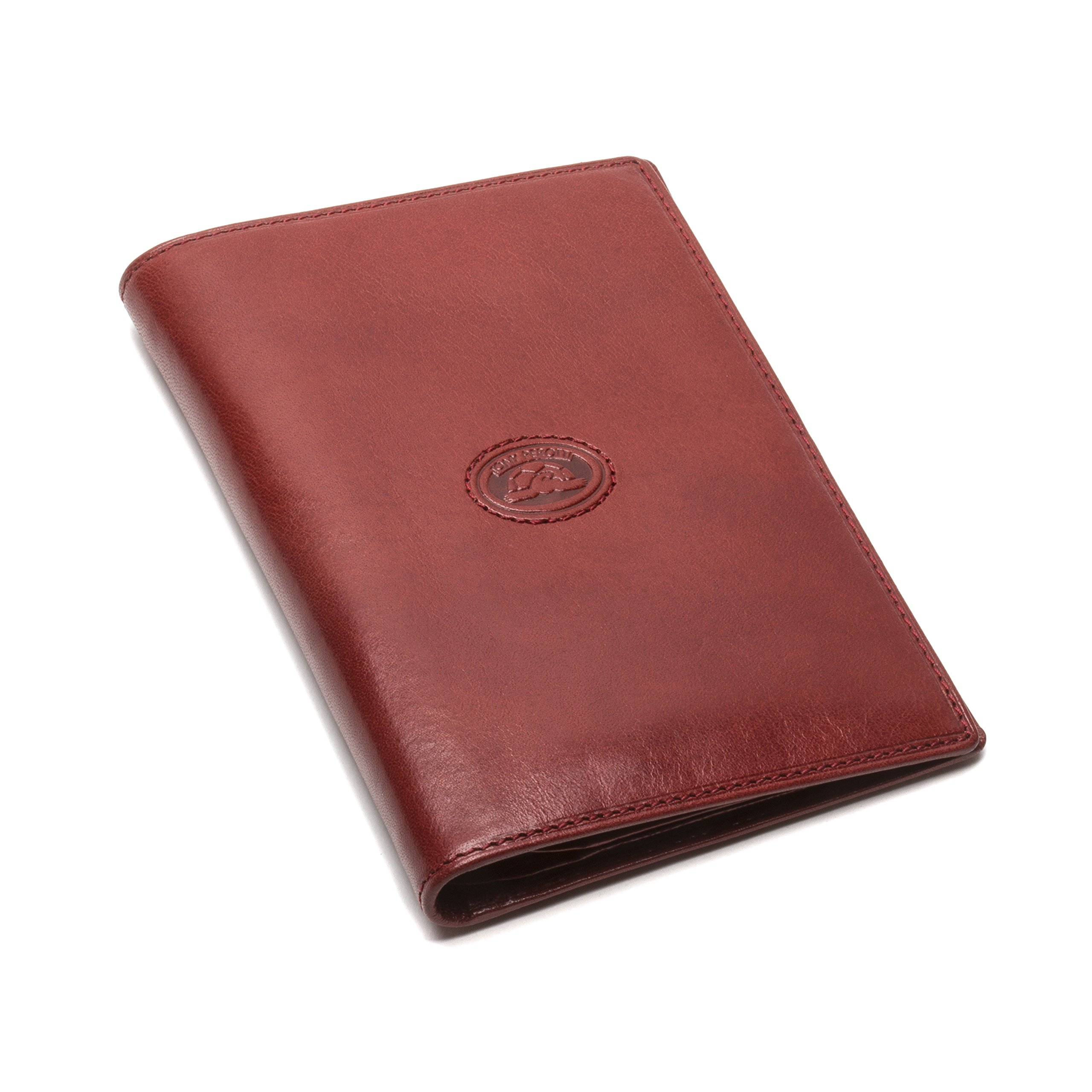 Tony Perotti Italian Bull Leather Executive Bifold Passport Cover Case