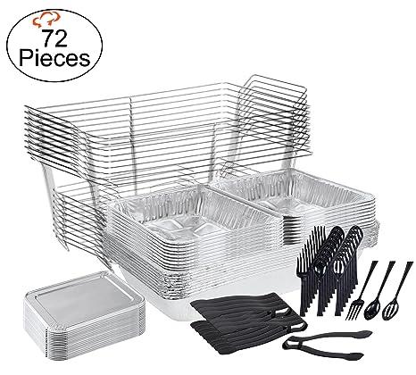 Amazon.com: TigerChef juego de catering, servir platos para ...