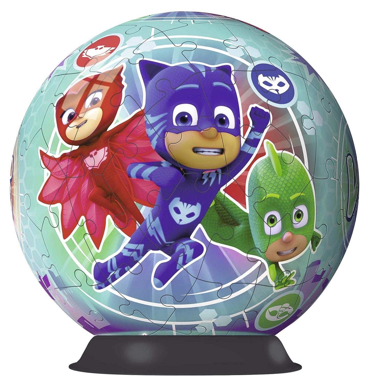 Ravensburger - Puzzle Ball 3D 72 Piezas, PJ Masks (11797): Amazon.es: Juguetes y juegos