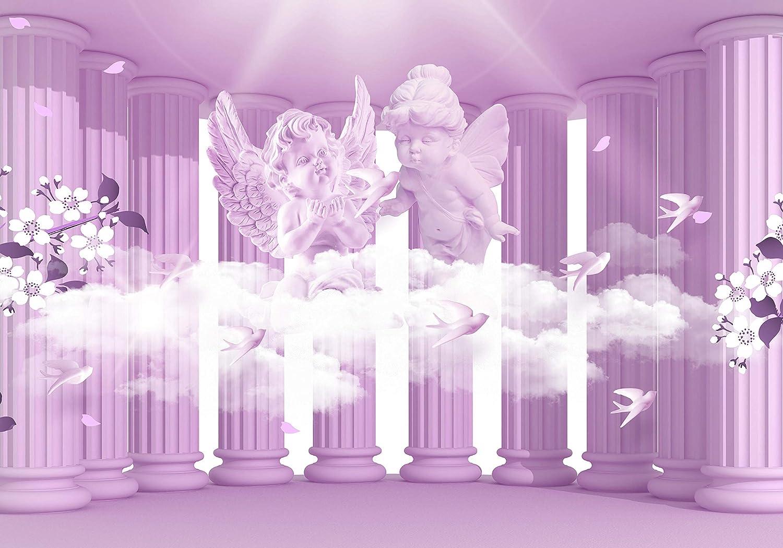 Wandmotiv24 Fototapete Fototapete Fototapete Säulen Engel Blaumen Sepia Wolke 3D Säule antik Raum Erweiterung mystisch M1854 XXL 400 x 280 cm - 8 Teile Wandbild - Motivtapete B07NF1ZFLT Wandtattoos & Wandbilder f58ab3