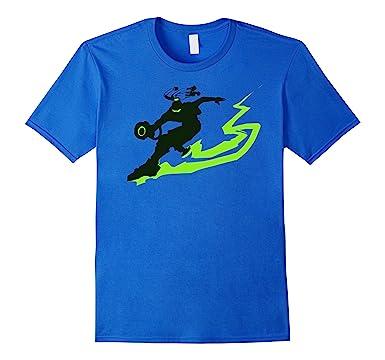 amazon com overwatch lucio grind spray tee shirt clothing