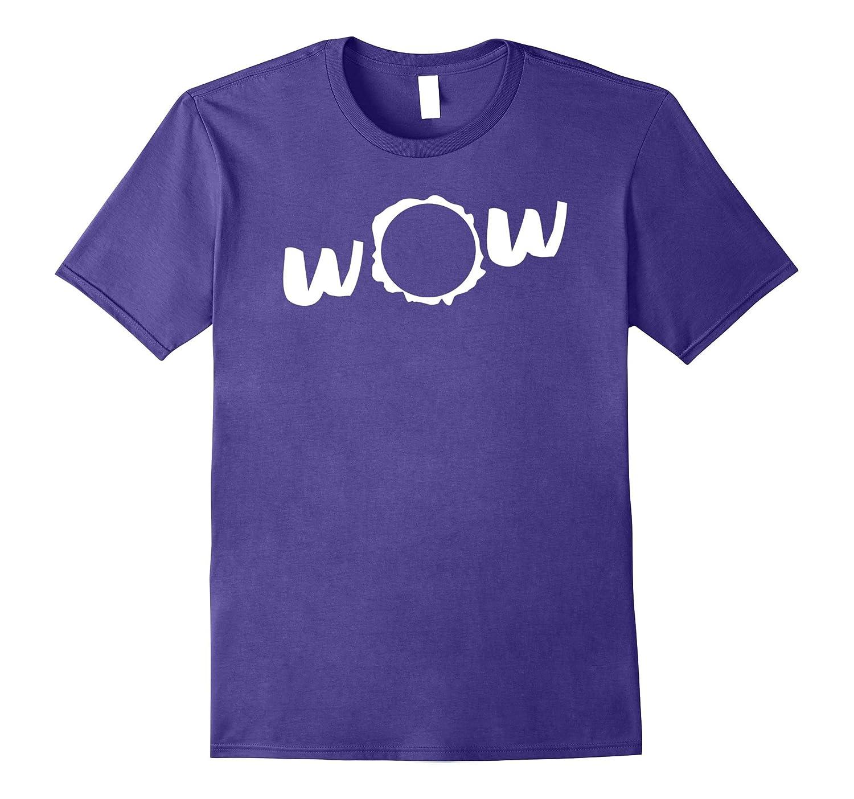 Wow Sun Solar Eclipse 2017 Tee Shirt for Men, Women and Kids