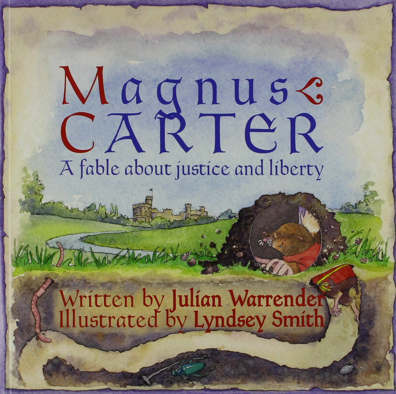 Read Online Magnus Carter: A Fable About Justice and Liberty ebook