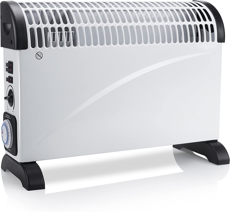 Tristar KA-5914 Calefactor eléctrico, 2000 W, Blanco