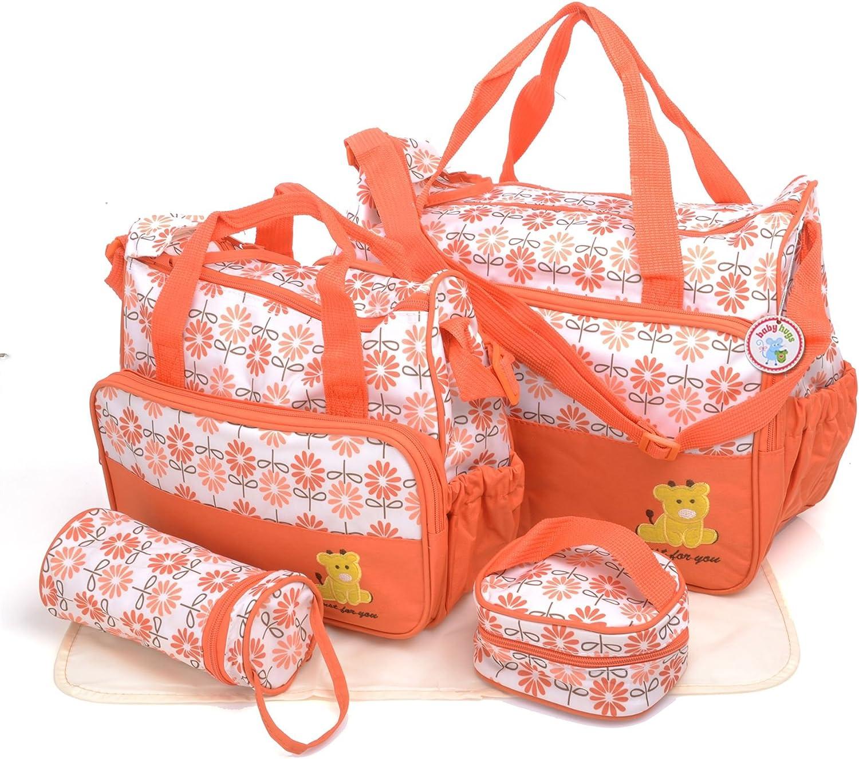 Babyhugs/® 3/Grand Sac /à langer Messenger Sac /à langer Motif pois color/és