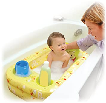 Amazon.com : Disney Inflatable Bathtub, Winnie the Pooh : Plush ...