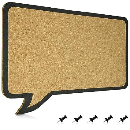 Top Navaris Kork Pinwand Memoboard Tafel - 44 x 29 cm Pin Board UR64