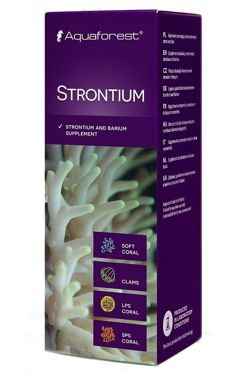 AQUAFOREST Strontium 10 ML.STRONCIO Y BARIO para CORALES. Acuario Marino: Amazon.es: Productos para mascotas