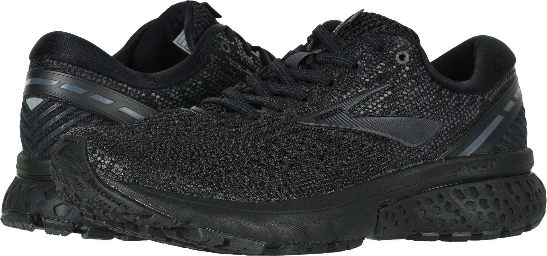 Brooks Women's Ghost 11 Black/Ebony 6 B US by Brooks (Image #1)