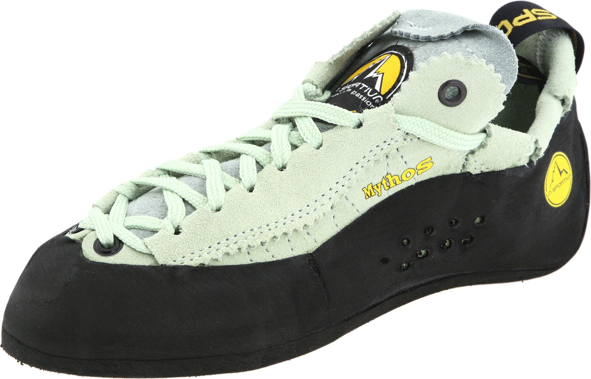 La Sportiva Mythos Lace-Up Climbing Shoe - Women's, Pistachio, 34 EU by La Sportiva