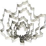 Fox Run 36092 Maple Leaf Cookie Cutter Set, Stainless Steel, 5-Piece