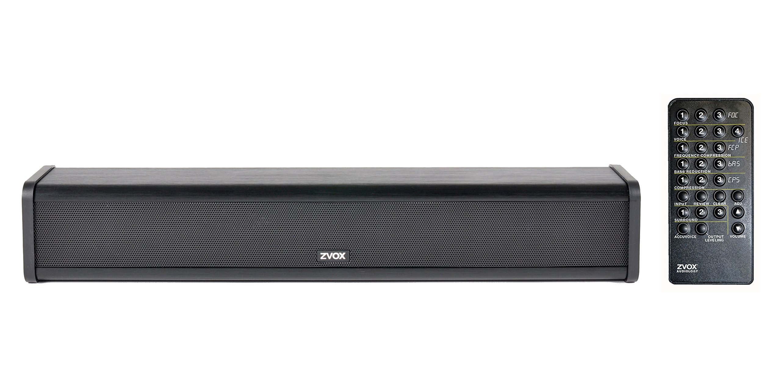 ZVOX AccuVoice AV205 Sound Bar TV Speaker With Hearing Aid Technology - Advanced Model Can Be Fine-Tuned - 30-Day Home Trial by ZVOX