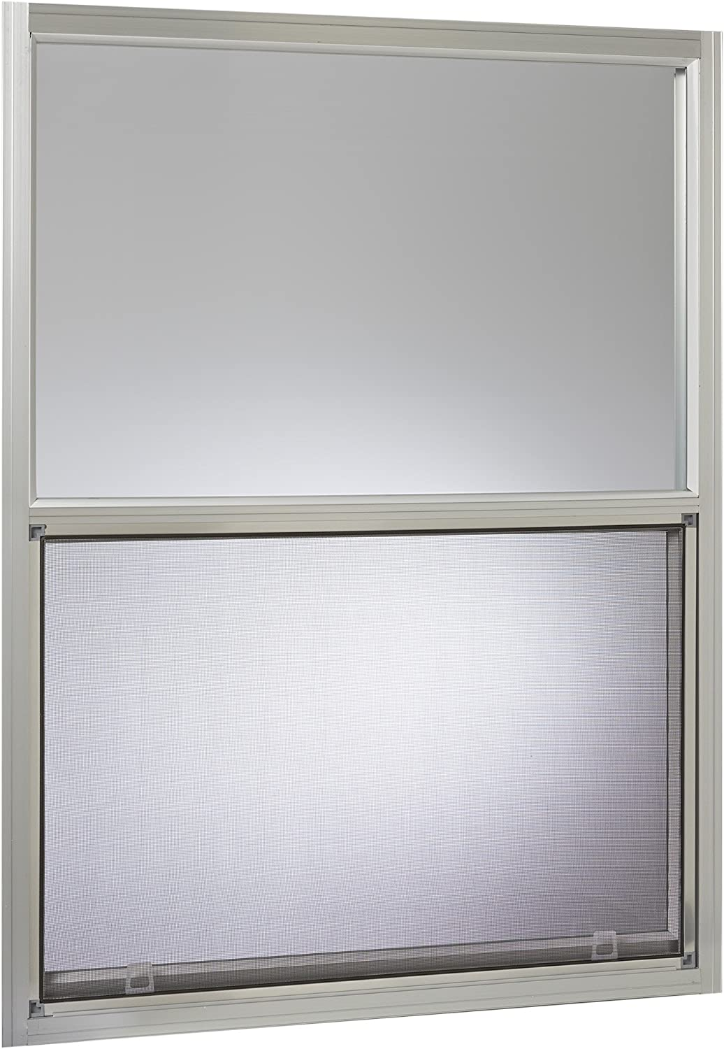 "Park Ridge Products AMHMF3040PR Park Ridge Mill Finish Aluminum Mobile Home Single Hung Window, 30"" x 40"", Silver"