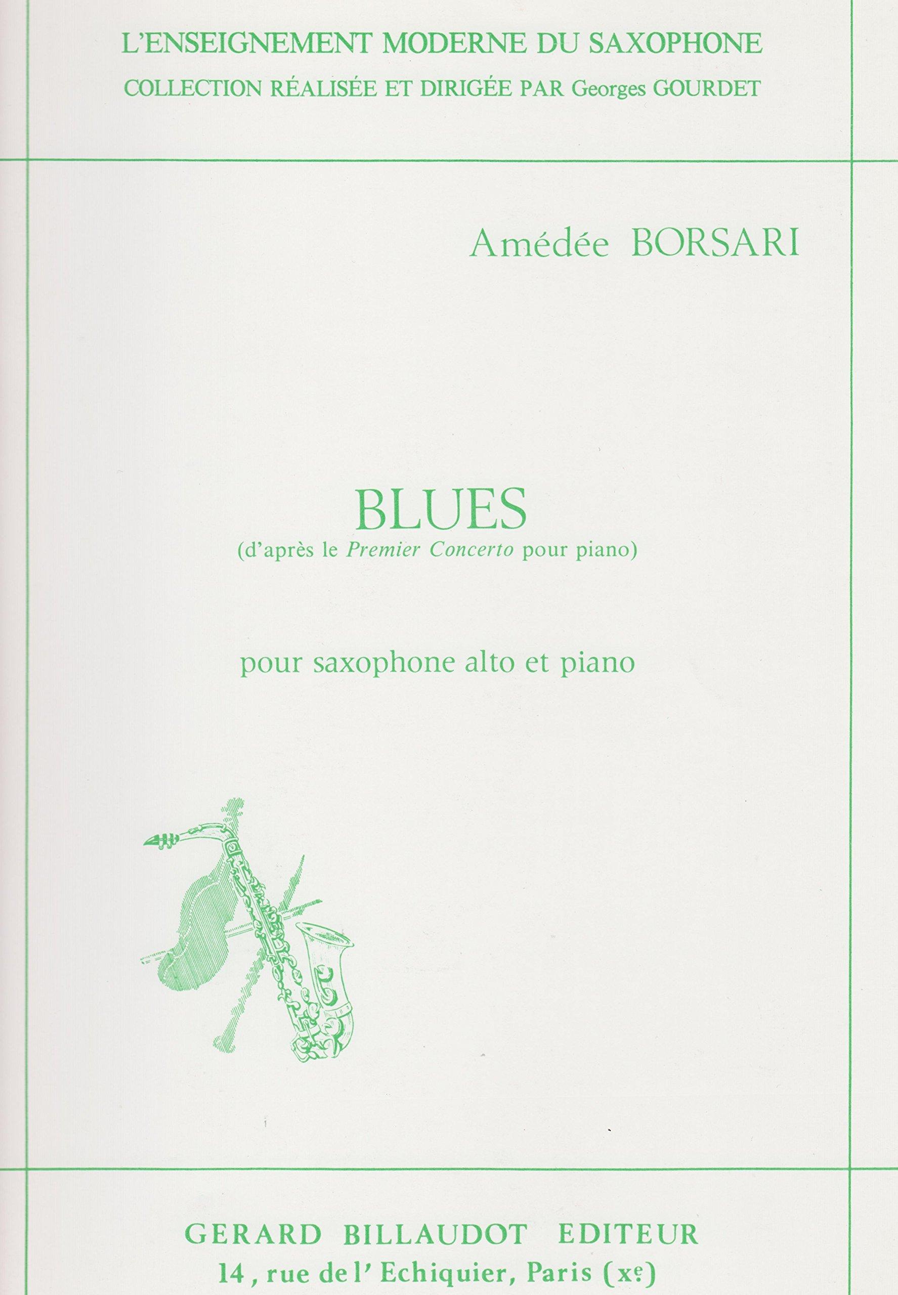 Amazon com: Blues for Alto Saxophone ad Piano by Amedee Borsari