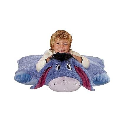 "Pillow Pets Eeyore Jumboz Disney, 30"" Jumbo Folding Plush Pillow: Home & Kitchen"