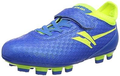 Gola Sparta Blade, Chaussures de Football Garçon, Bleu (Blue/Volt),