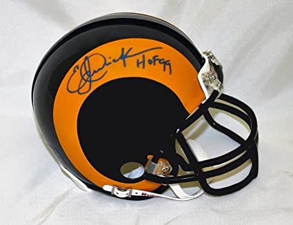 1942e8995bd Amazon.com  Eric Dickerson Autographed hand signed Los Angeles Rams ...